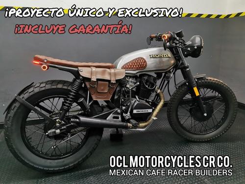 Imagen 1 de 8 de Moto Honda 125cc Scrambler ¡en Stock! (custom/cafe Racer)