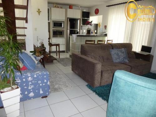 Duplex  Com 4 Dormitório(s) Localizado(a) No Bairro Centro Em Balneário Piçarras / Balneário Piçarras  - 424