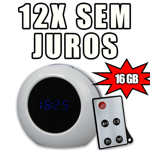 Micro Camaras Gravador Audio Mini Camera Espia Longo 16gb
