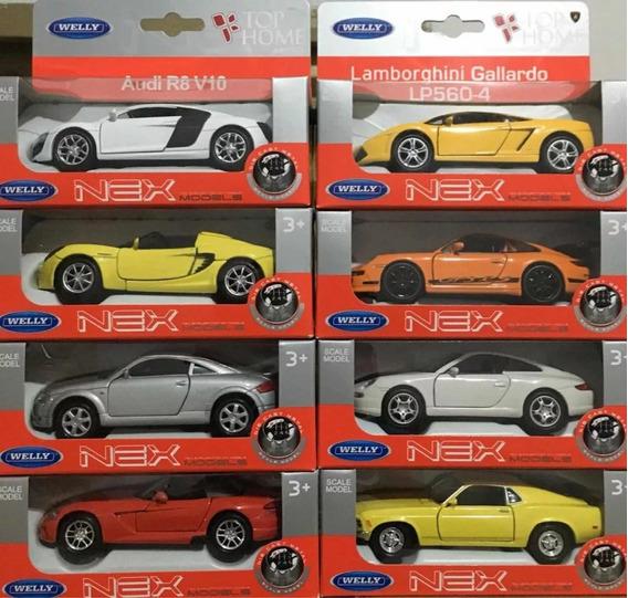 Miniatura Welly Nex Modelos De Carros Importados Em Metal