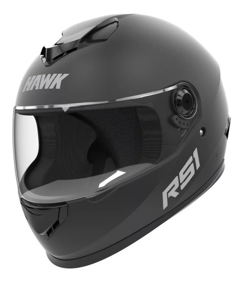 Casco para moto integral Hawk RS1 negro mate talle M