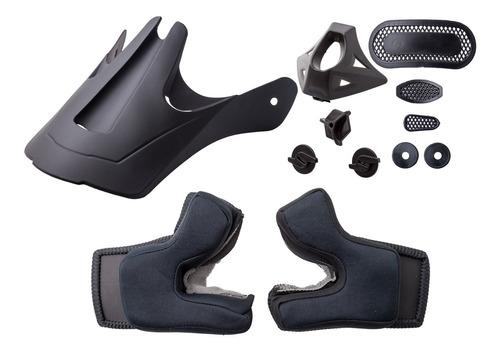 Repuesto Hawk Rs7 Kit Visera N Interior Ventilación Boquilla