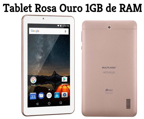 Tablet M7s Plus Android 7 Wifi Bluetooth Multilaser 1gb Ram