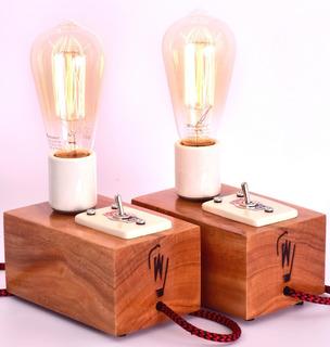 Velador Vintage - Estilo Edison