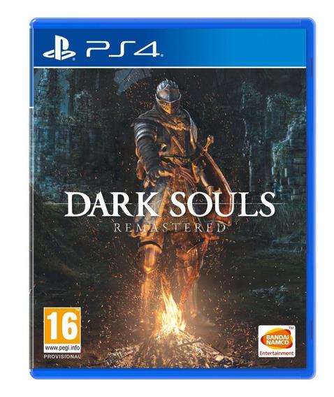 Dark Souls Remastered - Ps4 - Mídia Física - Novo