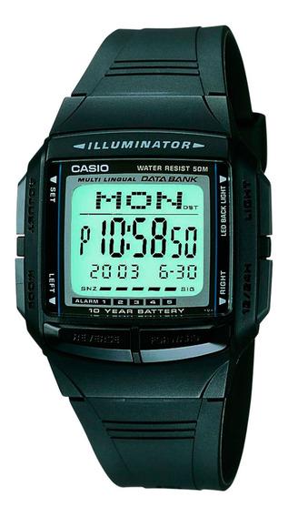 Relógio Casio Db-36-1avdf Digital Clássico Memória- Refinado