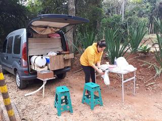 Kit Camping Para Carro / Kangoo
