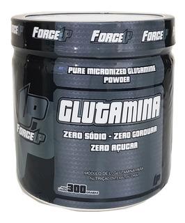 L-glutamina 300g Forceup - 100% Pura - Pronta Entrega