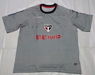 Camisa São Paulo Goleiro Cinza 2014 R. Ceni