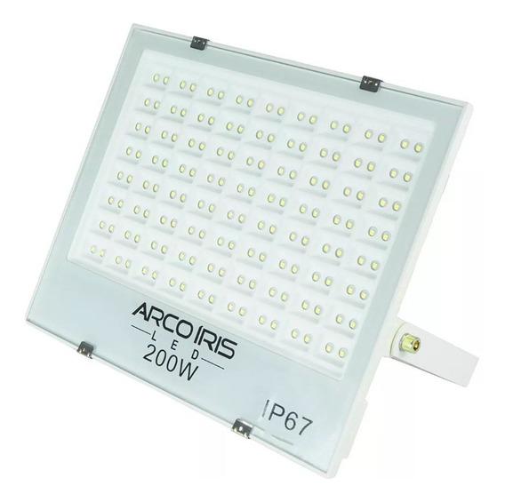 Refletor Led 200w Econômico Alta Duração Multifocal Ip67