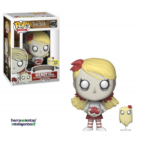 Wendy And Abigail Funko Pop Don´t Starve Videojuego Glow