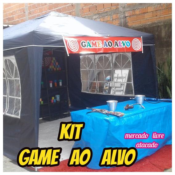 Tiro Ao Alvo Game Kit Completo Para Vc Trabalhar Alugar