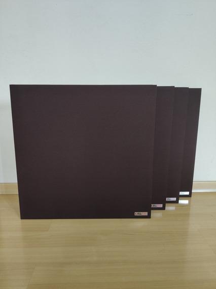 Painéis Acusticos Isodrums 60x60x6cm Densidade 64 Kg/m³