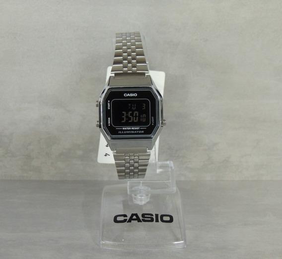 Relógio Casio Vintage Feminino Mod: La680wa-1bdf Nf/garantia