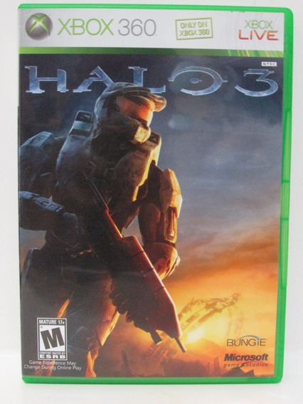Halo 3 - Game Xbox 360 Original Completo Mídia Física