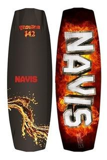 Prancha Wakeboard Navis Poseidon 143 + Bota 095 Wake Surf