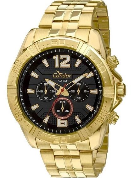 Relógio Condor Masculino Cronógrafo Covd54af/4p