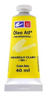 Pintura Oleo Atl 40ml. Gama Completa Con 33 Colores