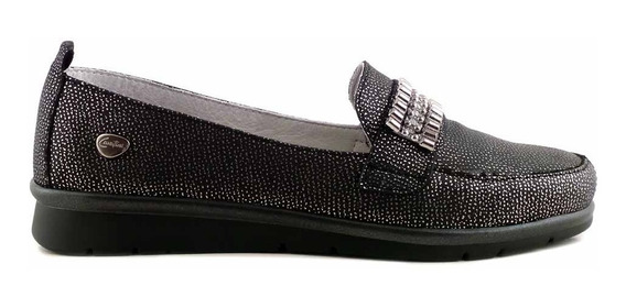 Mocasin Cuero Confort Mujer Cavatini Zapato - Mcmo03643