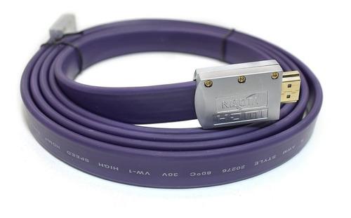 Cable Hdmi 2.0 Premium Certificado 4k Hdr Arc 18 Gbp 3 Mts