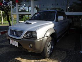Mitsubishi L200 2.5 Outdoor 4x4 Diesel Mecânica Prata 2009
