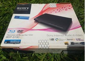 Blu Ray / Dvd Sony Bdp S190 Com Acesso Á Internet
