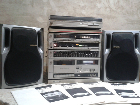 Equipo Technics Modular, 5pzs+cornetas (leer Descripción)