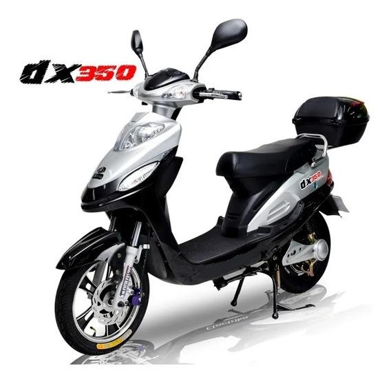 Moto Scooter Eléctrica 350w Batería Extraíble Plomo Y Litio!