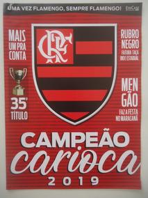 Flamengo Campeão Carioca 2019 Poster Edicase