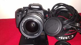 Câmera Canon T3i + Lente 18+55 Menos De 3k+cartão De Memória