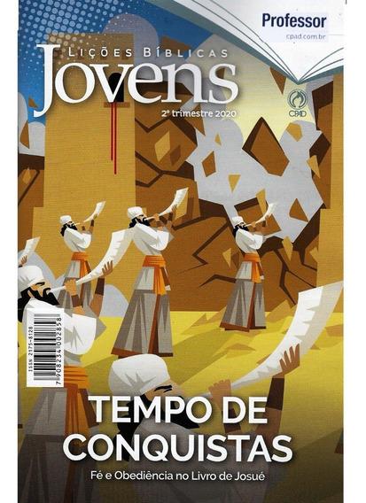 Revista Lições Bíblicas Jovens Professor Capa Dura 2°tr 2020