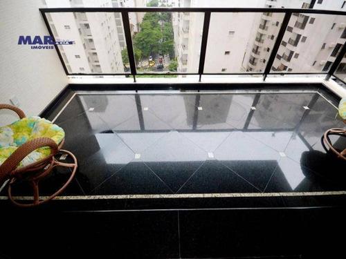 Imagem 1 de 23 de Apartamento Residencial À Venda, Barra Funda, Guarujá - . - Ap9132