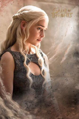 Poster Importado De La Serie Game Of Thrones - Daenarys