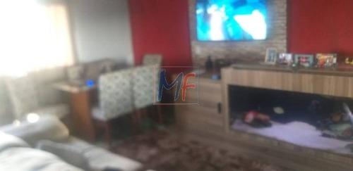 Imagem 1 de 25 de Ref 11.844 Excelente Apartamento Em Diadema, Com 2 Dorms,  2 Vagas De Garagem, 80 M² , Área De Churrasqueira, Estuda Permutas. - 11844