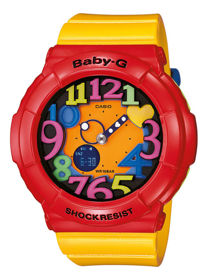 Reloj Baby-g Mujer Amarillo Bga-131-4b5dr