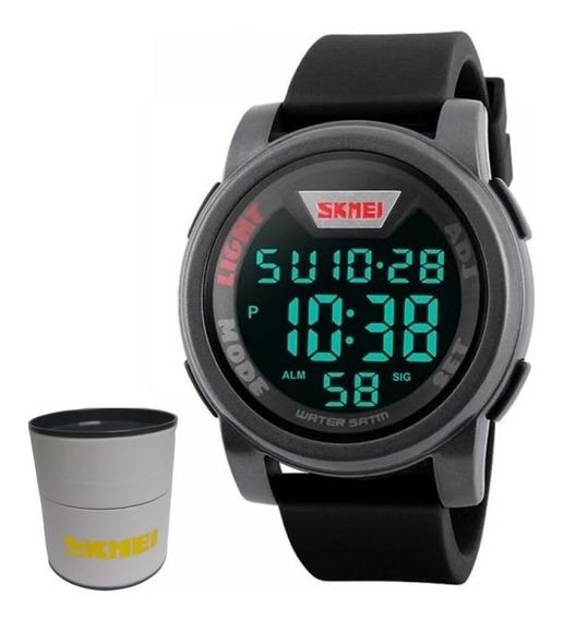 Relógio Masculino Digital Skmei 1218 Nf/ Com Caixa Original