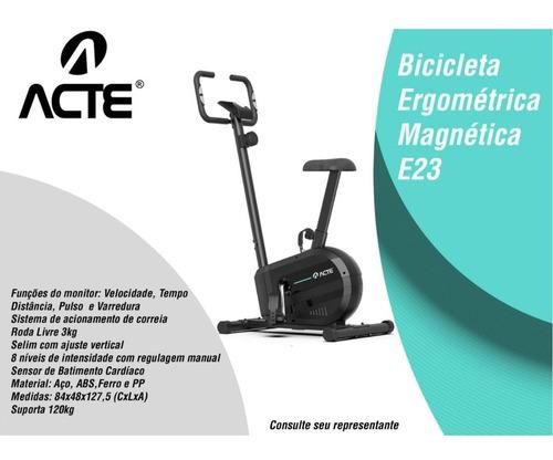 Imagem 1 de 3 de Bicicleta Ergométrica Vertical Magnetica Acte