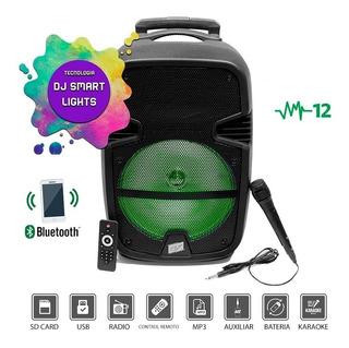 Parlante 12 Portatil Gran Potencia 5000w Bluetooth Karaoke