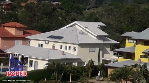 Linda Casa Avarandada Com 6 Suítes/4 Vagas/piscina Com Spa À Venda Em Condomínio Fechado Em Guararema, São Paulo - Ca00149 - 68294154