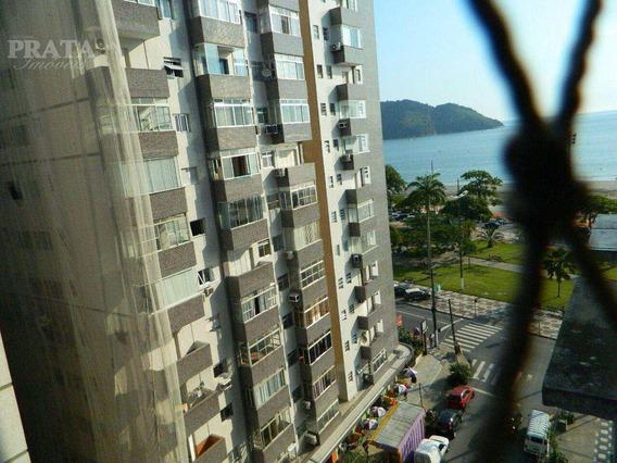 Alugo Vista Mar 2 Dormitórios Suíte Wc Empregada 1 Vg Demarcada - A397275
