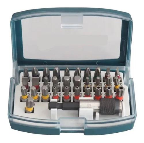 Imagen 1 de 8 de Set Puntas Atornillar Bosch 32 Pza Ph Pl Torx Hex Adaptador