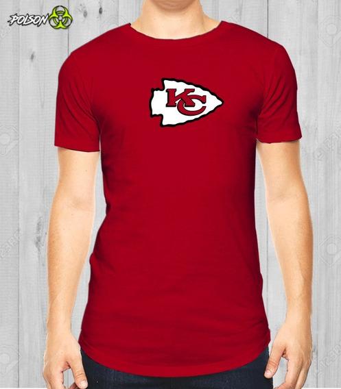 Playeras Dryfit Cuello Redondo Nfl Kansas City Chief Logo