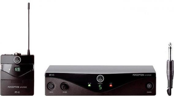 Transmissor Sem Fio Akg Para Instrumentos Pw Iset - A45