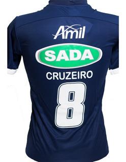 Camisa Sada Cruzeiro 2017/2018 Masculina Envio Rapido