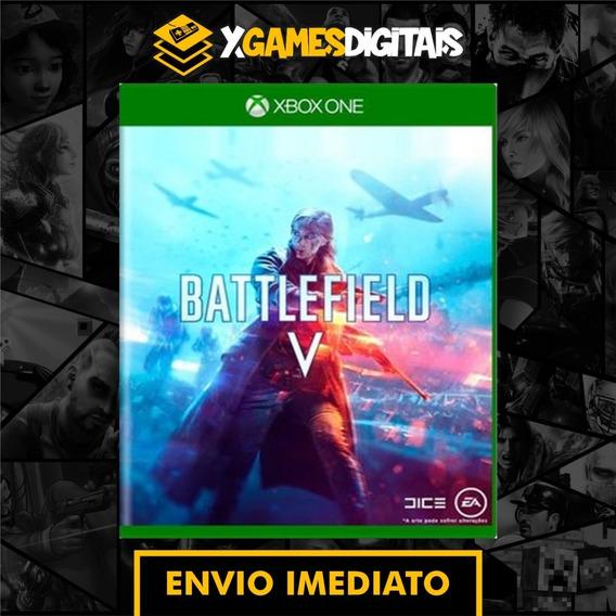 Battlefield V 5 Xbox One Midia Digital Online Sem Restrição