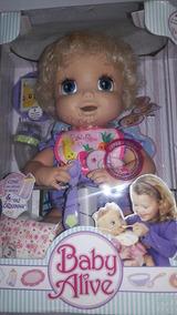 Baby Alive Linda Surpresa Com Comida E Suco Original!!!