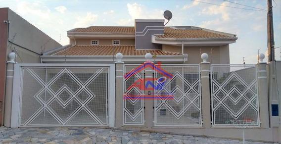Casa Com 3 Dormitórios À Venda, 200 M² - Jardim Terras De Santo Antônio - Hortolândia/sp - Ca0082