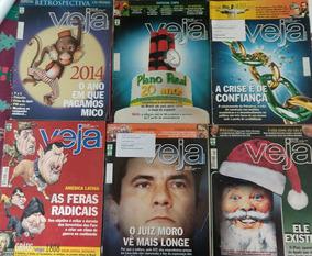 Revista Veja - Lote 6 Edições - Anos 2008/2014/2015