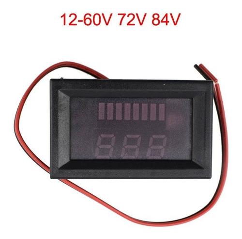 Imagen 1 de 6 de Tester Indicador Medidor Capacidad Pilas Baterias 12v-60v