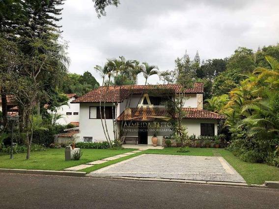Excelente Casa À Venda No Condomínio Residence Park - Cotia, Gourmet , Com 4 Dormitórios, 4 Vagas De Garagem Área 380,00 M² - Oportunidade Confir - Ca2015
